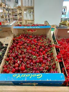 cerises montmorency - Vergers des Moncels - Producteur de fruits à Lagney